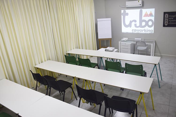 Sala de treinamento - Formato Escolar