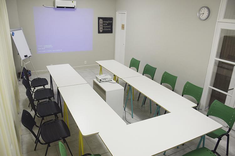 Sala de Treinamento - Formato em U